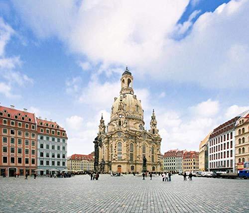 LLYMGX 1000 Stück Puzzle-Spiel Erwachsene Kinderspielzeug, Dresdner Frauenkirche In Dresden, Sachsen Kindergeburtstagsgeschenke