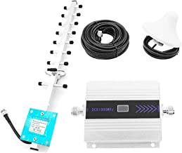 MINBB Signal Enhanced Cellular Amplifier Signal Amplifier 1805-1880MHz DCS 1800MHZ 4G Network 1710-1785MHz Indoor Antenna Cellphone Repeater