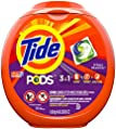 Tide PODS, Laundry Detergent Liquid Pacs, Spring Meadows, 81 Count - Packaging May Vary