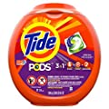 Tide PODS, Laundry Detergent Liquid Pacs, Spring Meadows,…