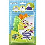 Perler Beads Owl and Hedgehog Pegboard Set, 2 pcs