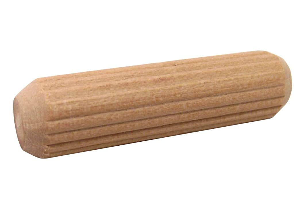 Milescraft 5302 Fluted Wood Dowel Pin, 3/8-Inch
