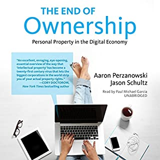 The End of Ownership audiobook cover art