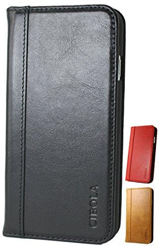 CIBOLA 高級牛革 Galaxy note8 ケース 手帳型 ギャラクシーノート8 ケース 手帳 本革 galaxyノート8 ケース 手帳 革 耐衝撃 SC-01K ケース SCV37 ケース スマホケース レザー カードホルダー スタンド スマホカバー Galaxy Note8,レッド