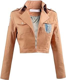 Unisex Long Sleeve Khaki Jackets