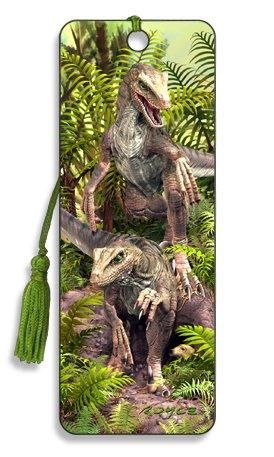 3D Dinosaur'Bad Boys' Bookmark - by Artgame