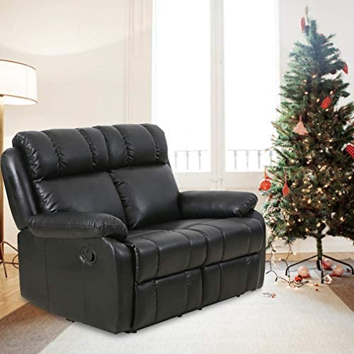 Best Recliner Sofa Loveseat Leather Sofa Recliner Couch Manual Reclining Sofa Recliner Chair, Love Seat,