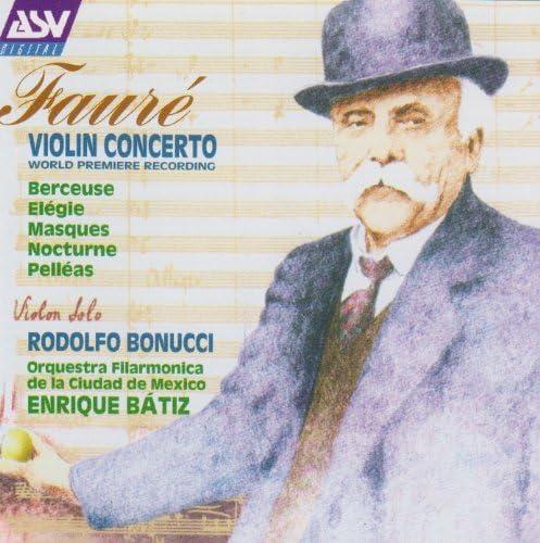 Rodolfo Bonucci, Orquesta Filarmónica de la Ciudad de México & Enrique Bátiz