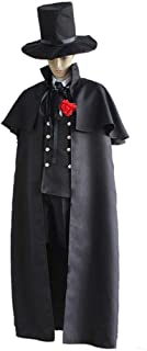 Black Butler Costumes 6Pcs/Full Set Ciel Cosplay Costumes Kuroshitsuji 2 (Without Shirt),Blackbutlerciel,L