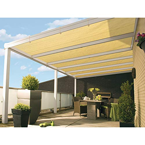 DOEWORKS Shade Cloth, 10'x16' UV Block Sun Shade Canopy with Grommets for Outdoor Pergola, Patio, Garden Deck