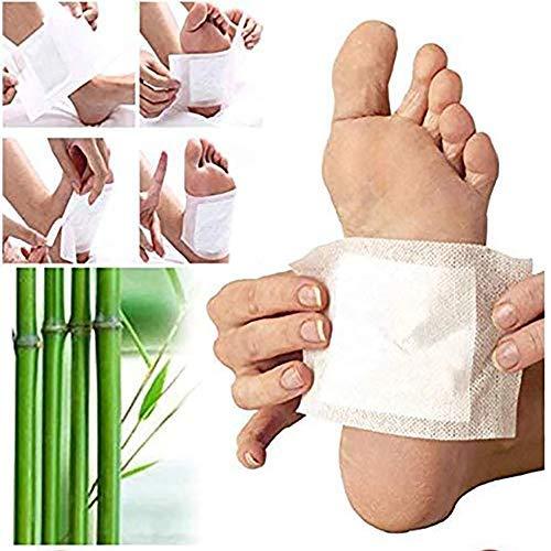 Detox Fußpflaster- 200 Stück fusspflaster zum abnehmen, Detox Foot Pads, Fördern die Durchblutung- Lindern Schmerzen und Verbessern den Schlaf entfernen Sie Giftstoffe aus dem Körper