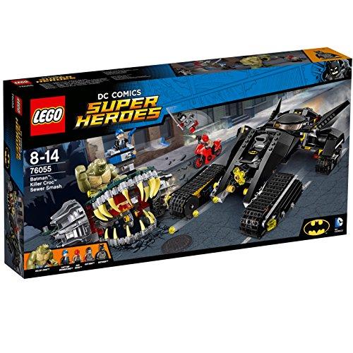 LEGO Super Heroes 76055 - Batman: Killer Crocs Überfall in der Kanalisation