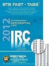 2012 International Residential Code (IRC) BTB Fast Tabs