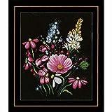 Unbekannt Lanarte Cruz Flores Pracht Aida Cruz, algodón, Multicolor, 31x 36x 0.3cm