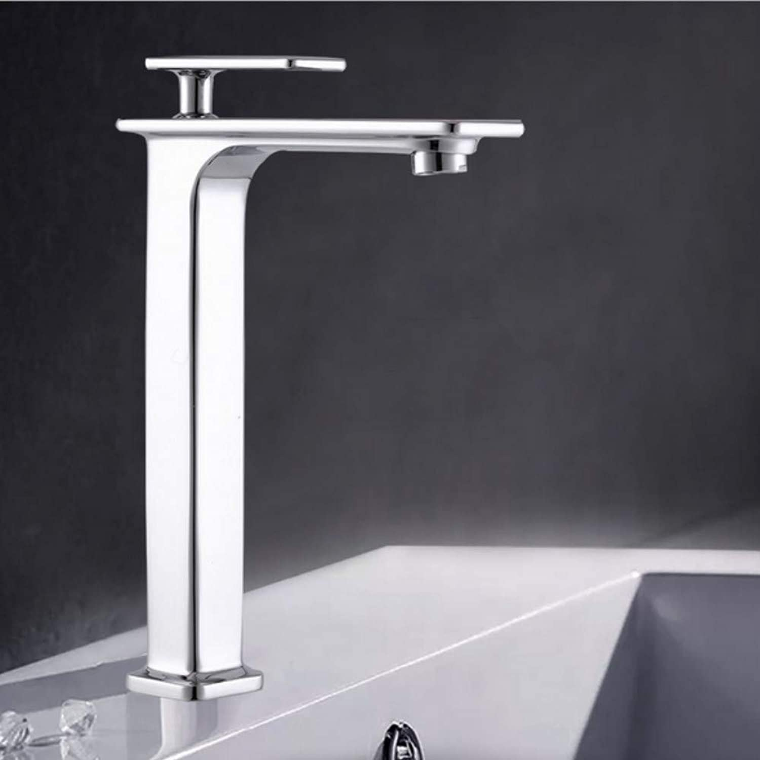 Xiujie Faucet Bathroom Basin Mixer Single-Connected Hot and Cold Water Faucet Lead-Free Copper Wash Basin Faucet