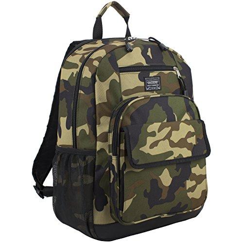 Eastsport Tech Backpack, Black/Army Camo