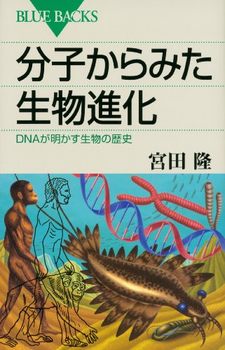 分子からみた生物進化 DNAが明かす生物の歴史 (ブルーバックス)