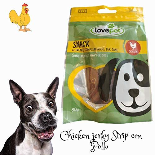 Snack Per Cani LOVE PET Chicken Strips con Pollo e Merluzzo