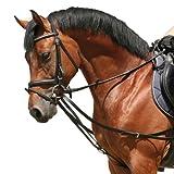 PFIFF - Briglia triangolare, Nero, pony...