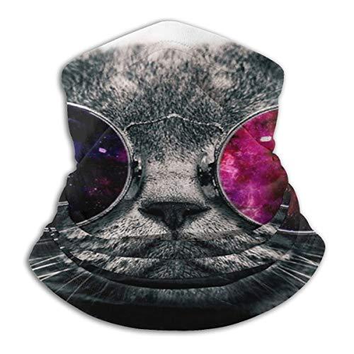 longdai Coolcat Gezicht Masker Magic Wide Wicking Hoofdbanden Outdoor Hoofddeksels Bandana Sport Sjaal