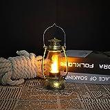 Wisolt Lanterna da Esterno a Sospensione, Lampada Giardino Vintage con Maniglia, Lanterna da Esterno Vintage LED Lanterne di Tempesta per il Campeggio Giardino Cortile Terrace Portico