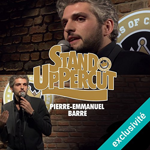 Stand UpPercut - Pierre-Emmanuel Barré audiobook cover art