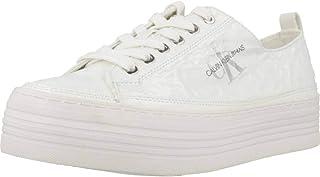 Calvin Klein Zolah, Women's Fashion Sneakers, White, 41 EU