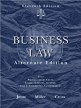 R. L. Miller's G. A. Jentz's F. B. Cross's Business Law 11th edition(Business Law, Alternate Edition [Hardcover])(2008)