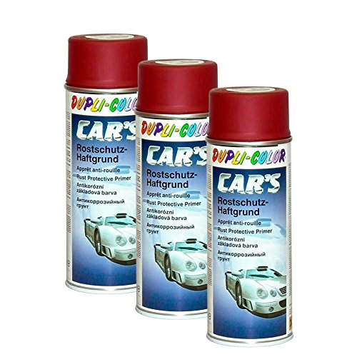 DUPLI_bundle 3X Dupli-Color Cars Rostschutz Haftgrund rot 400 ml 740220