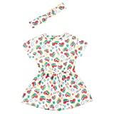 Top Top VEYELA Vestido, Estampado, 9-12 para Bebés