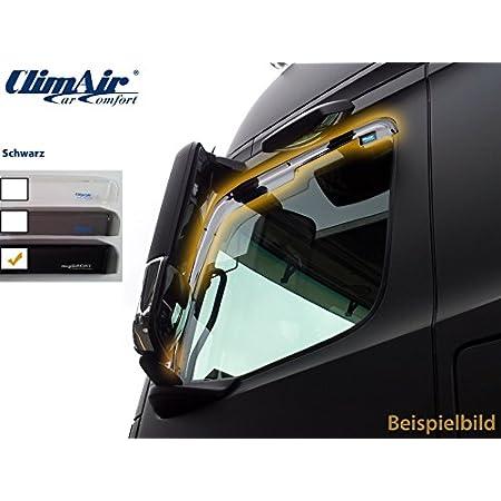 CLI0046109 Farbe: rauchgrau ClimAir LKW Windabweiser f/ür Fahrer und Beifahrert/ür