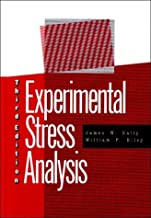 Best experimental stress analysis james w dally Reviews