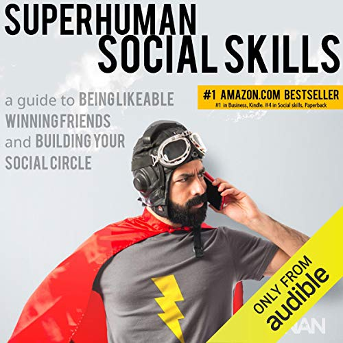 Superhuman Social Skills audiobook cover art