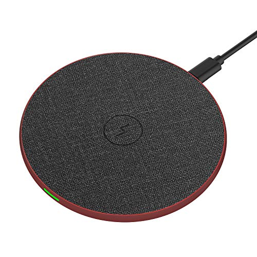 Wireless Charger, RATEL Qi-Certified 7.5W Wireless Charging Compatible with iPhone 11/11Pro/11Pro Max/Xs MAX/XR/XS/X/8Plus/8, 10W for Galaxy S10/S10 Plus/S10E/S9, 5W for All Qi Phones(No AC Adapter)