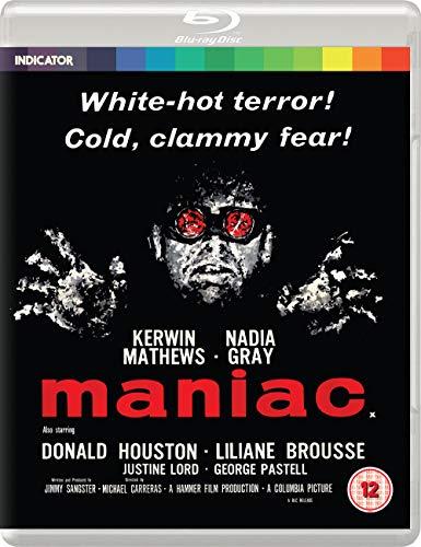 Maniac (Standard Edition) [Blu-ray] [2020] [Region Free]