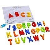 Halsey99 Aimants pour réfrigérateur Jouet, Enfants magnétiques Lettres/Chiffres Toy ABC 123 Réfrigérateur Set de Jouets Jouets de comptage Orthographe L'apprentissage préscolaire éducation