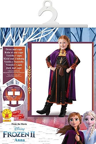 Frozen 2 Classic Disfraz Anna Travel, M, Multicolor, (Rubie