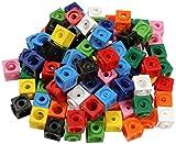 Dick-System 170100 100 Steckwürfel, 10 farbig