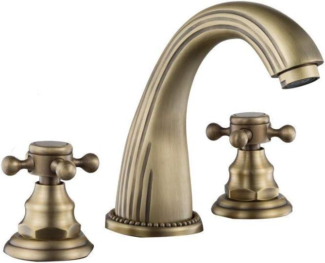 OFFicial SH-CHEN Basin Faucet Retro Brass Bathroom Antique Bronze Popular