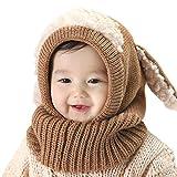 Sombrero de la bufanda del invierno de los bebs de las muchachas de los muchachos Sombrero...