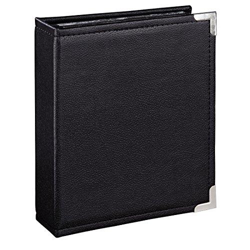 """Hama Einsteckalbum """"New York City"""" (für 100 Fotos im Format 10x15, schwarze Innenseiten, transparente Einsteck-Taschen) Foto-Album schwarz"""