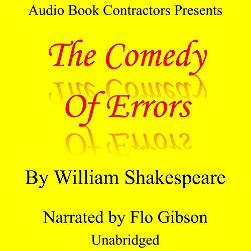 Page de couverture de The Comedy of Errors