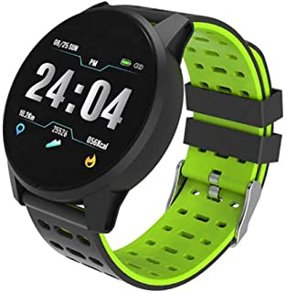 XNNDD Reloj Inteligente para Hombres y Mujeres Monitor de Ritmo cardíaco Presión Arterial Gimnasio Rastreador Reloj Inteligente Reloj Deportivo Reloj Impermeable