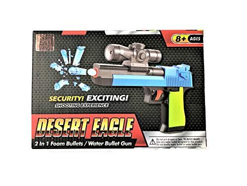 GF Toys Pistola  Desert Eagle Pistol, dispara Bolas de Agua. Incluye 2.000 Bolas de Agua y...