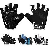 Keaplayee Men Cycling Gloves Bicycling Gloves Biking Gloves