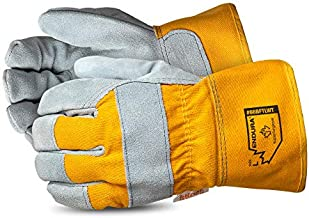 Superior Winter Work Gloves – Waterproof and Insulated Work Gloves for Cold Weather Conditions (Thinsulate - 66BFTLWT) – Size Large