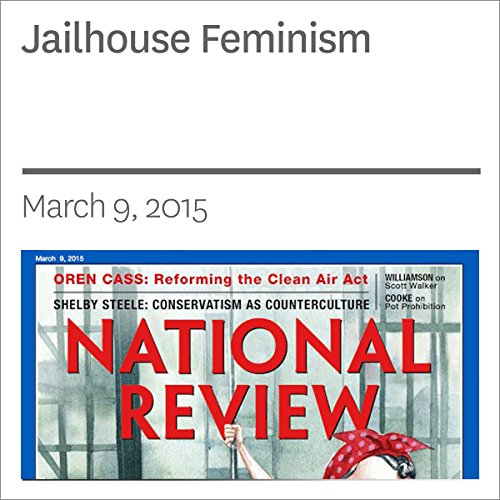 Jailhouse Feminism audiobook cover art