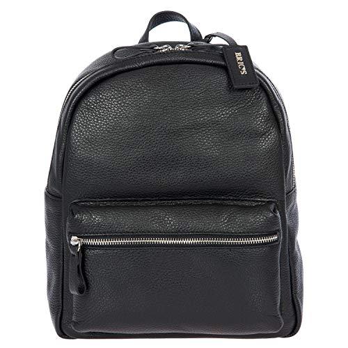 Rucksack X-Bag Leder, Einheitsgröße.Schwarz