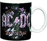 Rock - AC/DC - Rock Or Bust Tazza da caffè - design originale concesso su licenza