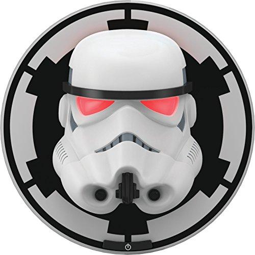 Philips Disney Star Wars Stormtrooper LED Wandleuchte 3D, schwarz, 915005309401